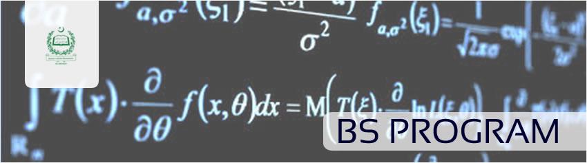 BS Program, Department of Mathematics, QAU