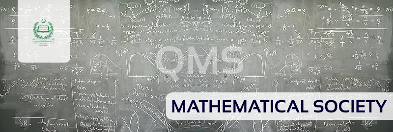 Mathematical Society (QMS), Department of Mathematics, QAU