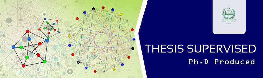 Ph.D Produced, Department of Mathematics, QAU